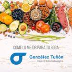 alimentos que protegen la salud bucodental